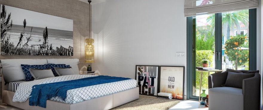 Dormitorio luminoso en Ses Salines