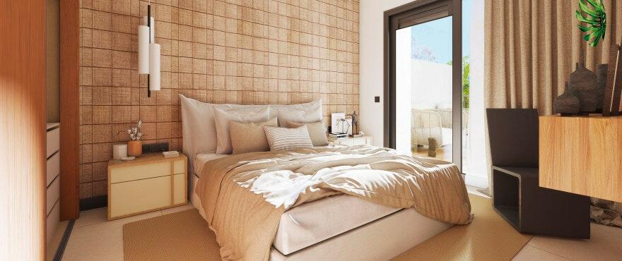 Marbella Lake, bright spacious double bedroom in a quiet area