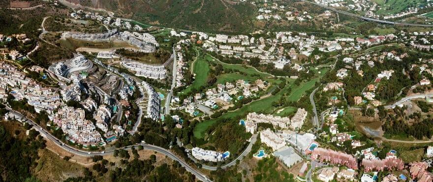The Crest, appartementen en penthouses met 3 slaapkamers te koop, Benahavis, Marbella