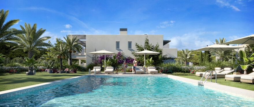Es Llaut: New exclusive apartments with communal pool