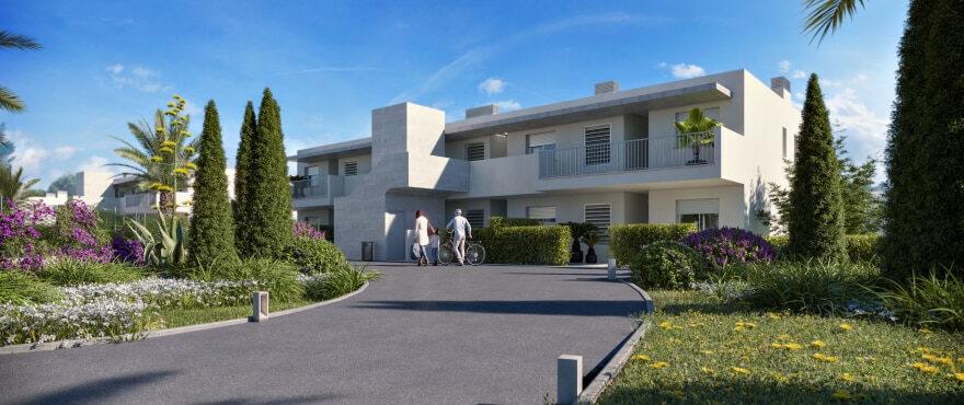 Es Llaut: New ground floor apartments with private garden
