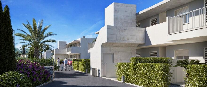 Es Llaut: New apartments close to the sea in Cala Bona, Mallorca