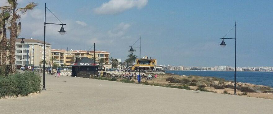 Beach in Punta Prima, Torrevieja, Alicante