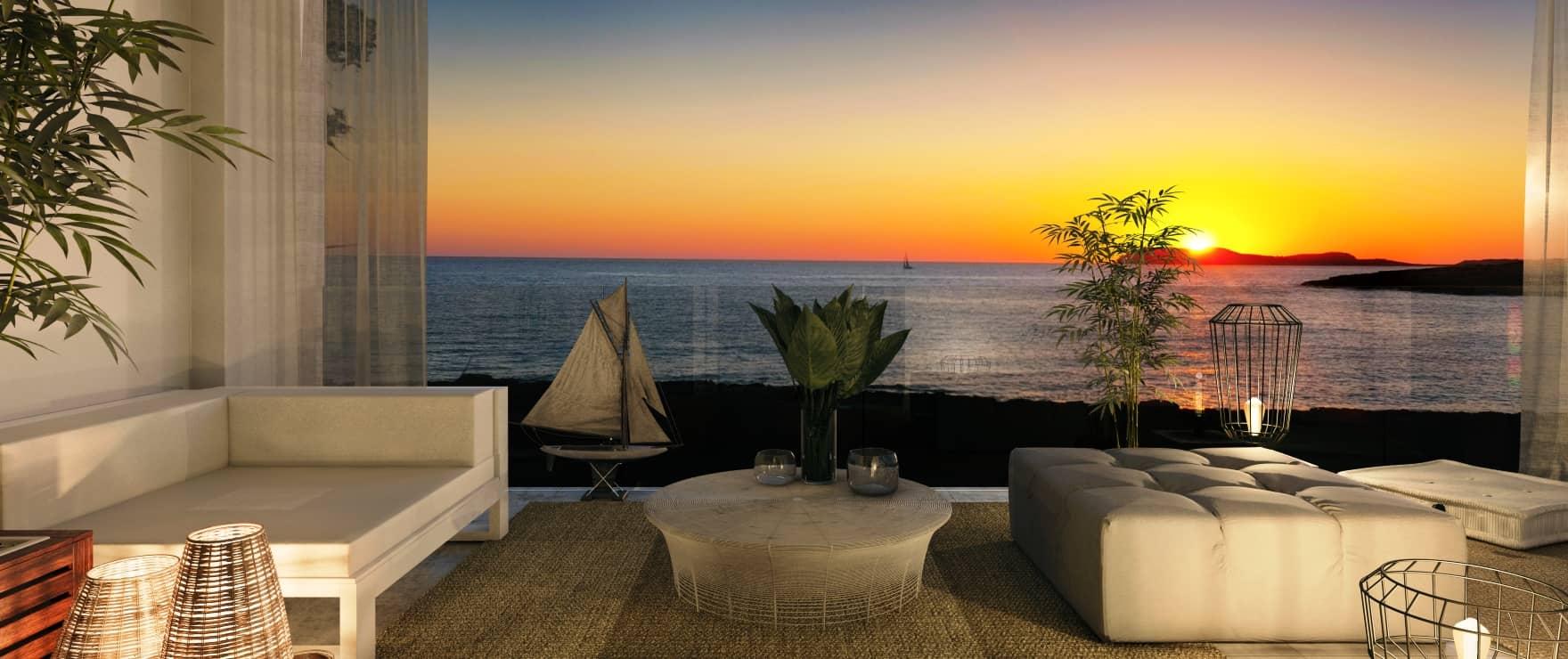 Sunset Ibiza - Cala Gracio (Ibiza)